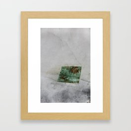 Copper Leaf Framed Art Print