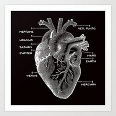 Solar Vascular System Art Print