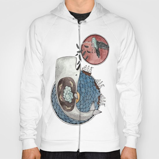 New Version Whale Hoody