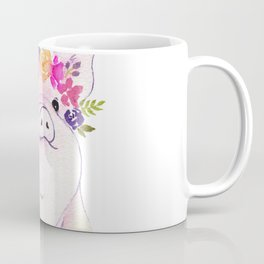 Piglet watercolor Coffee Mug