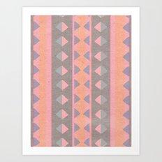 Montana Weave Art Print