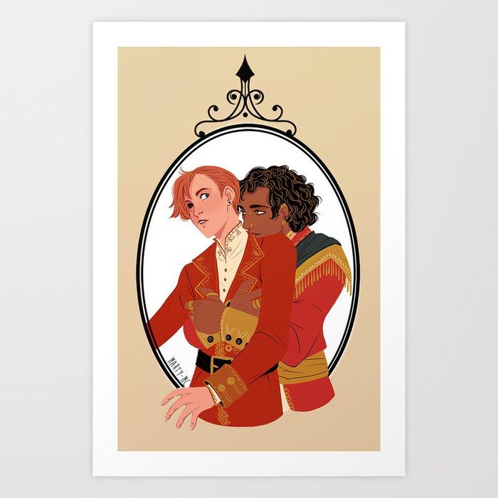 A Darker Shade of Magic  Art Print