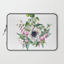 Gentille watercolor handpainted clipart, floral, flower, design, stylish, wedding, invitation Laptop Sleeve