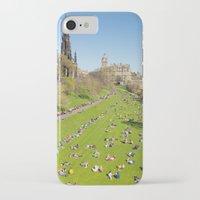 edinburgh iPhone & iPod Cases featuring Edinburgh by Sierra Whiskey Bravo