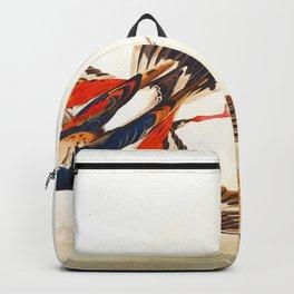 Turn Stone John James Audubon Scientific Illustration Birds Of America Drawings Backpack