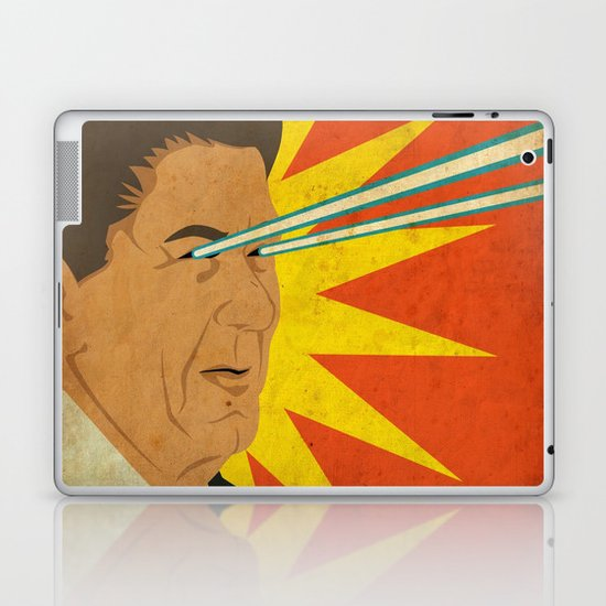 Ronald Raygun Laptop & iPad Skin
