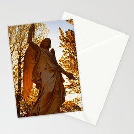Golden Spring Stationery Cards