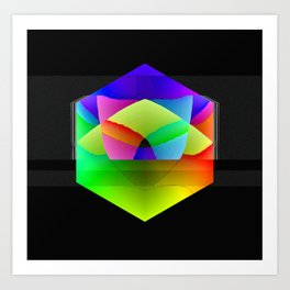 Color Hex Art Print