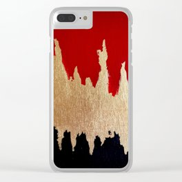 Fear of the Dark Clear iPhone Case