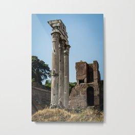 Forum Columns Metal Print
