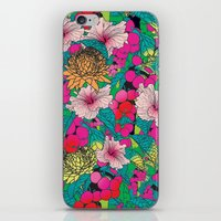 fruit iPhone & iPod Skins featuring FRUIT by KIMENTE
