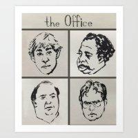 the Office Art Print