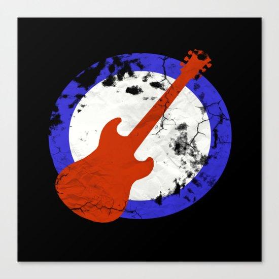 Guitar Mod Canvas Print