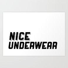 NICE Art Print