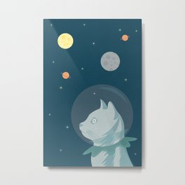 Dreaming about Space Metal Print