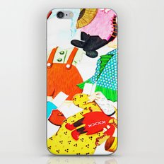Paper Clothes iPhone & iPod Skin