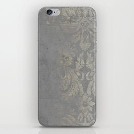 Grunge Damask iPhone Skin