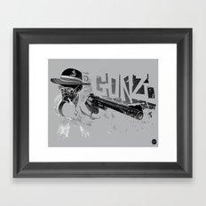 Dr Gonzo Framed Art Print