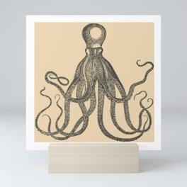Vintage Octopus Mini Art Print