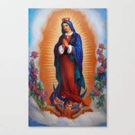 Our Lady of Guadalupe - Virgen de Guadalupe Canvas Print