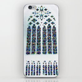 Cathedrale Mosaic window iPhone Skin