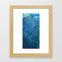 kalo-koru Framed Art Print
