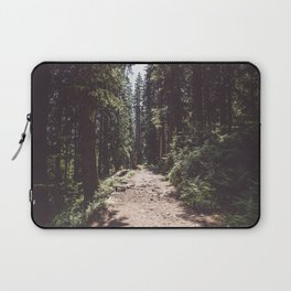 Entering the Wilderness - Landscape and Nature Photography Laptop Sleeve