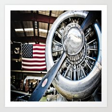 Aviation in the USA Art Print