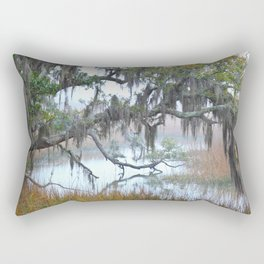 Daniel Island Marsh 1 Rectangular Pillow