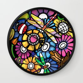 All that blooms Wall Clock