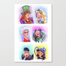 Mad T Party Band Canvas Print