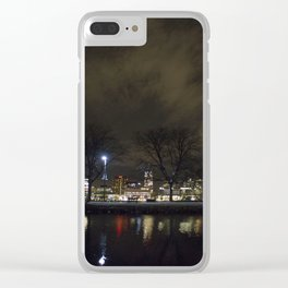 Clouds Over the Charles Clear iPhone Case