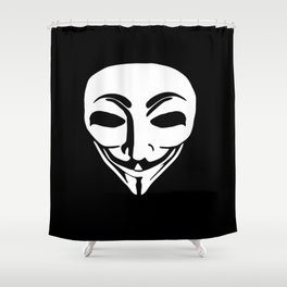 Anonymous Aliens Shower Curtain