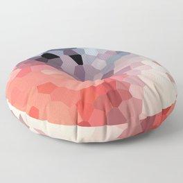 Geometric Flow Vibes Floor Pillow