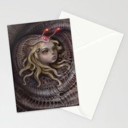 Spiral Inhabitants Stationery Cards