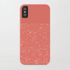 XVI - Peach 1 iPhone X Slim Case