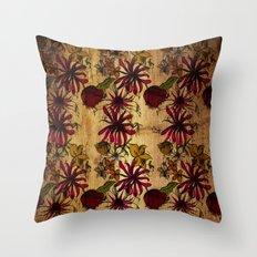 Sketchbook Floral Throw Pillow