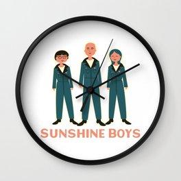 Sunshine Boys 2020 png Wall Clock