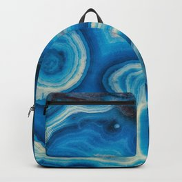 Blue Raindrop Agate 0026 Backpack