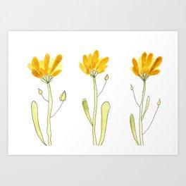Minimalist Dandelion Art Print