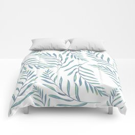 Delicate Leaves Comforters