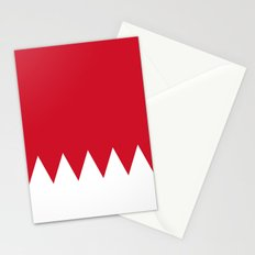 Flag Of Bahrain Stationery Cards