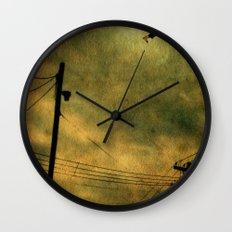 The Jumper Wall Clock