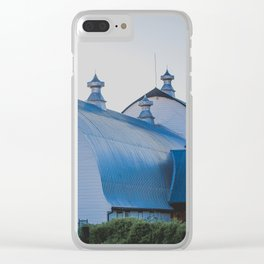 Creamers Dairy and Barn, Fairbanks Alaska Clear iPhone Case