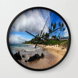 Lahaina, Maui Wall Clock