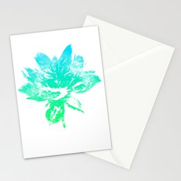 Abstract Lotos Stationery Cards