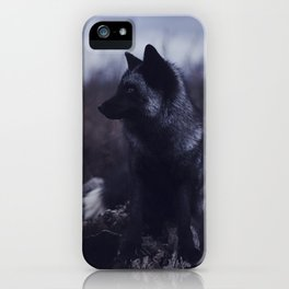 Dark Fox iPhone Case