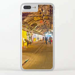 Artistic London Clear iPhone Case