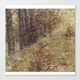 Christian Rohlfs 1849 - 1938 GERMAN WEIMARER GRABEN NEAR WEIMAR Canvas Print