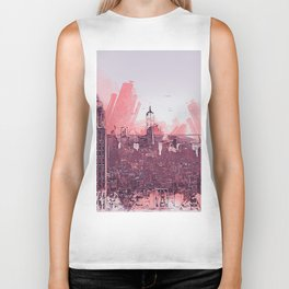New York Panorama Biker Tank